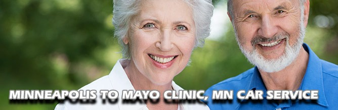 Mayo Clinic Car Service from the Minneapolis Airport